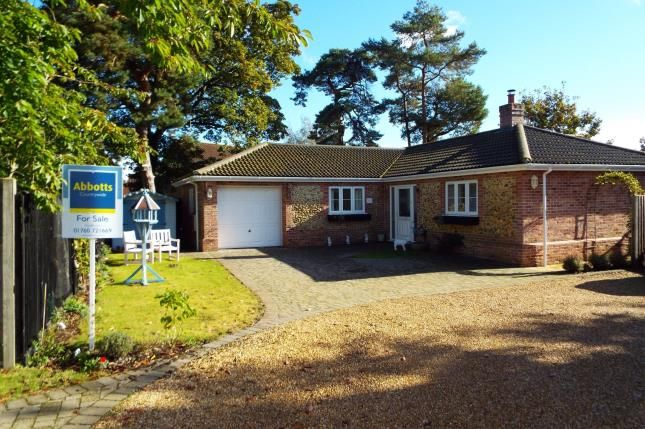 Thumbnail Bungalow for sale in Holm Oak Gardens, Swaffham