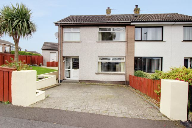 Thumbnail Semi-detached house for sale in Broomhill Close, Newtownards