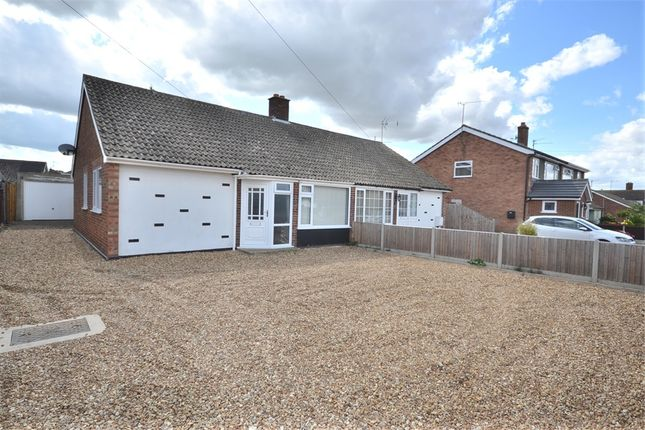 Thumbnail Semi-detached bungalow for sale in Suffield Way, King's Lynn