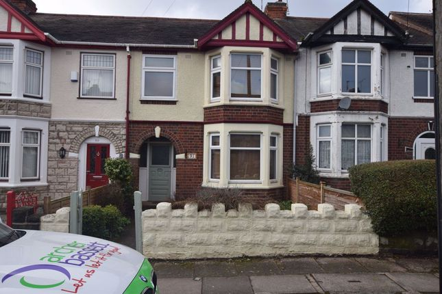 Thumbnail Terraced house to rent in Batsford Road, Coundon, Coventry