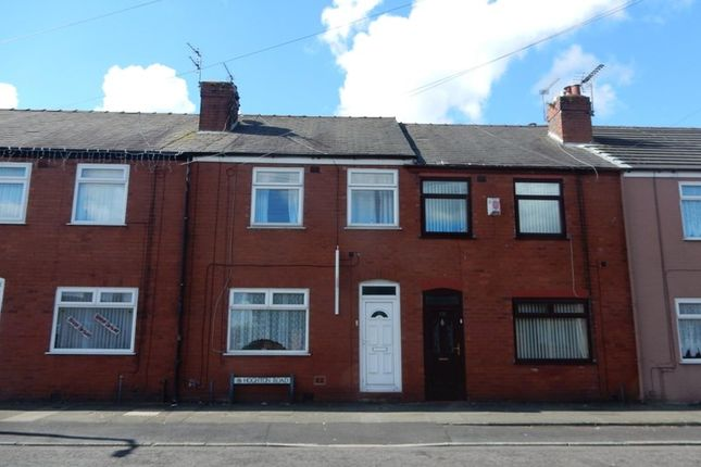 Thumbnail Terraced house to rent in Hoghton Road, St. Helens