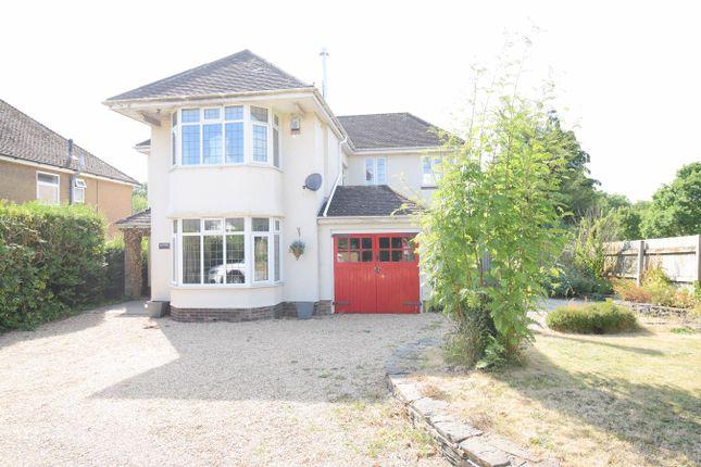 Thumbnail Detached house for sale in Newport Road, Llantarnam, Cwmbran