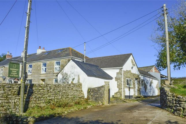 Thumbnail End terrace house for sale in Trannack, Helston, Cornwall