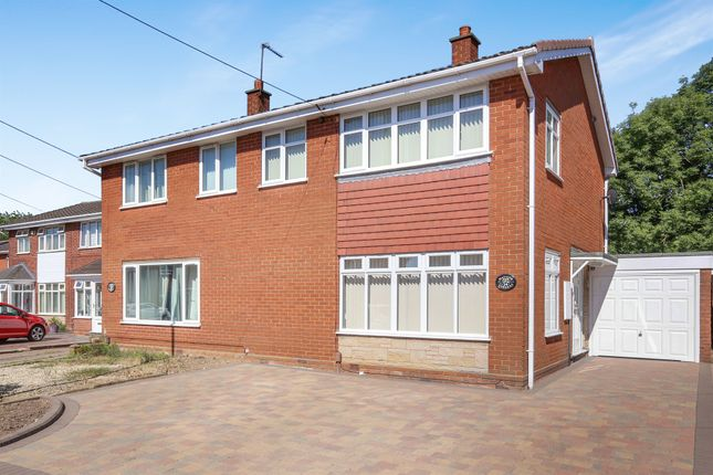 Thumbnail Semi-detached house for sale in Wayside Gardens, Willenhall