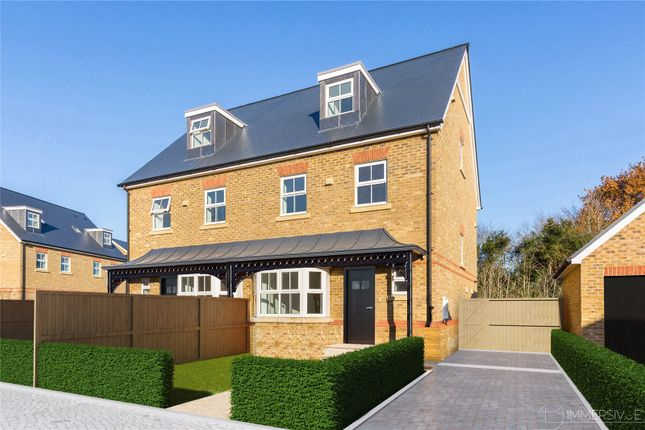 Thumbnail Detached house for sale in Vale Road, Windsor, Berkshire