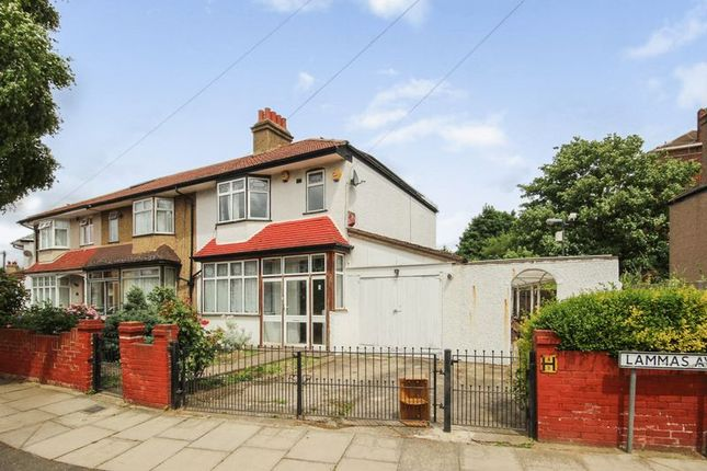 Thumbnail Semi-detached house for sale in Lammas Avenue, Mitcham, Surrey