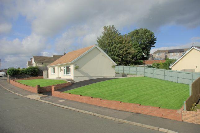 Thumbnail Detached bungalow for sale in Glanbran Road, Birchgrove, Swansea