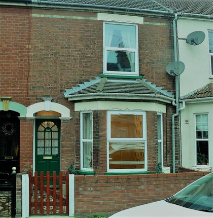 Thumbnail Terraced house to rent in Worthing Road, Lowestoft