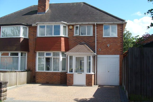 Thumbnail Semi-detached house for sale in Chadwick Avenue, Rednal
