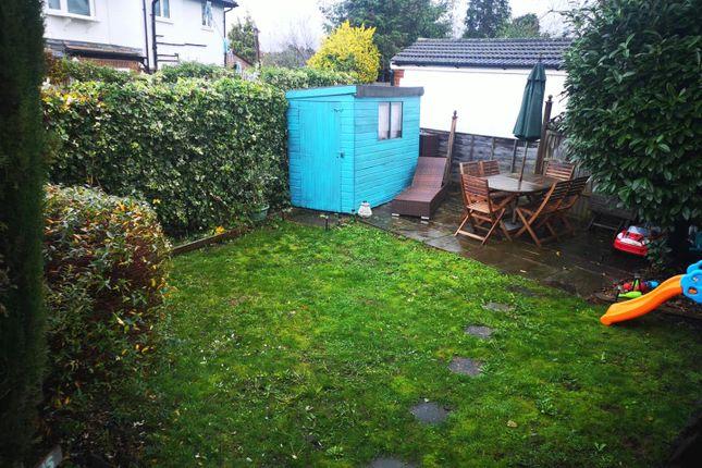 Private Rear Garden: