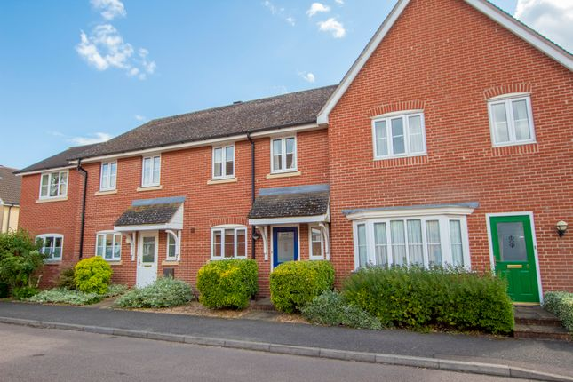 Thumbnail Terraced house for sale in Samian Close, Highfields Caldecote