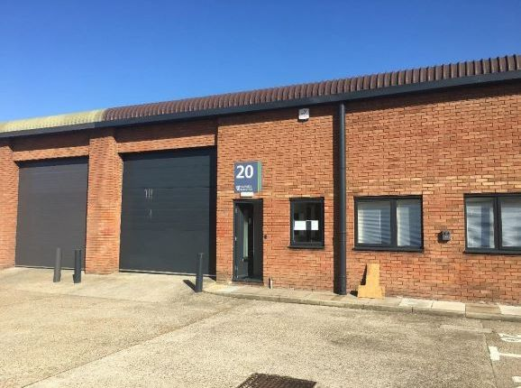 Thumbnail Warehouse to let in Unit 20 Barwell Business Park, Chessington