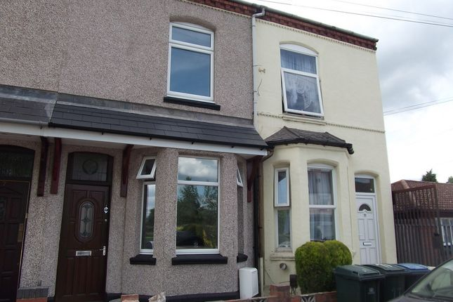 Thumbnail Terraced house to rent in Villa Road, Coventry