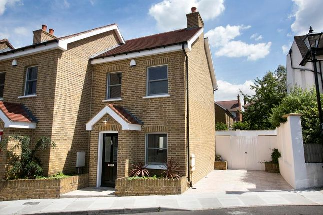 Thumbnail End terrace house for sale in Stanley Road, East Sheen
