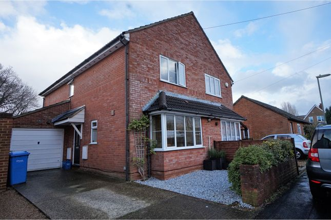Thumbnail Semi-detached house for sale in Priory Street, Farnborough