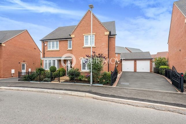 Thumbnail Detached house for sale in Centenary Way, Copcut, Droitwich