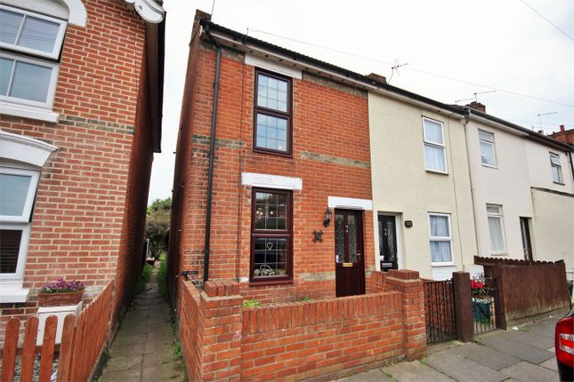 Thumbnail End terrace house for sale in Winchester Road, Colchester