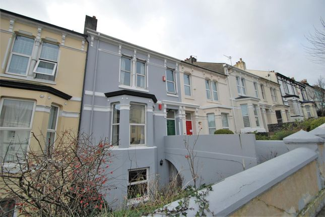 Thumbnail Terraced house for sale in Belgrave Road, Mutley, Plymouth