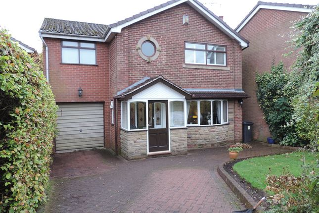 Thumbnail Detached house for sale in Chiltern Drive, Royton, Oldham