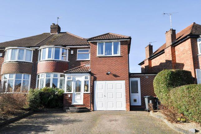 Semi-detached house in  Aversley Road  Kings Norton  Birmingham  Birmingham