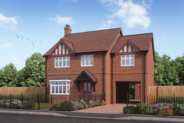 Thumbnail Detached house for sale in Kings Manor, Hoplands Road, Coningsby, Lincolnshire