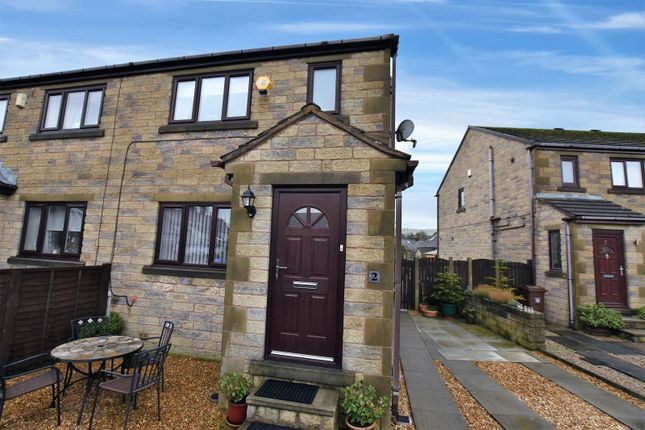 Thumbnail 3 bed semi-detached house for sale in Smithbrook Close, Chapel-En-Le-Frith, High Peak
