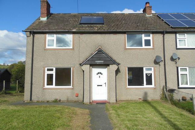 Thumbnail Semi-detached house to rent in Glan Collen, Llangernyw