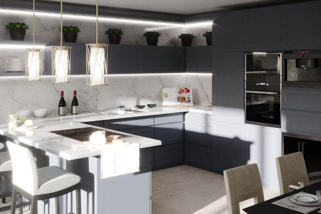 Living Kitchen of Plot 6, Beauchief Grove S7