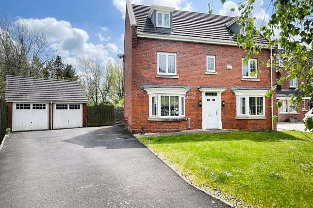 Thumbnail Detached house for sale in Waterton Close, Bridgend