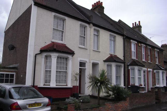 Thumbnail End terrace house to rent in Crowther Road, London