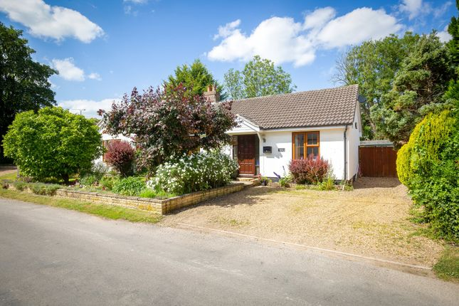 Thumbnail Detached bungalow for sale in Foremans Road, Thriplow, Royston