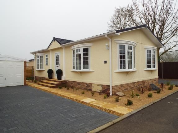 Thumbnail Mobile/park home for sale in Witchford, Ely, Cambridgeshire