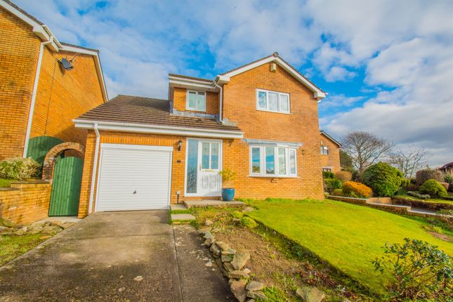 Thumbnail Detached house for sale in Cae Caradog, Caerphilly