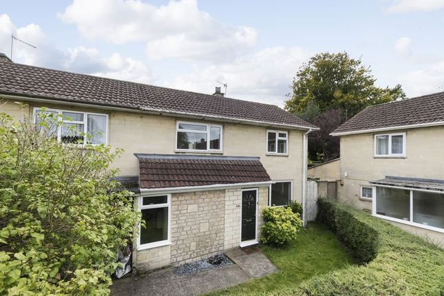 Thumbnail End terrace house for sale in Down Avenue, Combe Down, Bath
