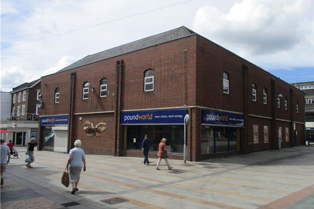Thumbnail Commercial property to let in Former Poundworld, Market Square, Merthyr Tydfil, South Wales