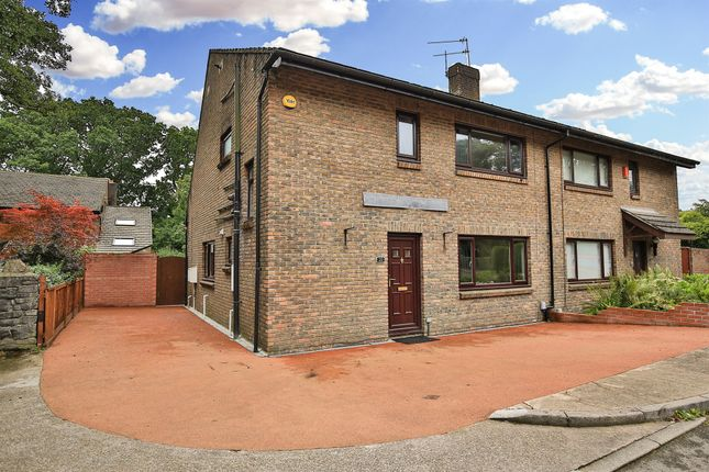 Thumbnail Semi-detached house for sale in Pontfaen, Cyncoed, Cardiff