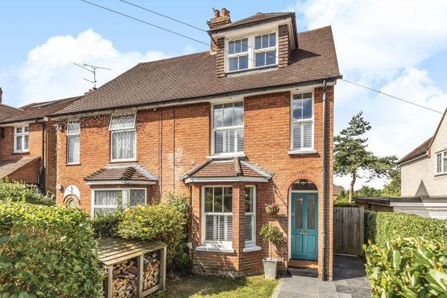Thumbnail Semi-detached house for sale in Weydon Hill Road, Farnham