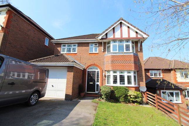 Thumbnail Detached house for sale in Bronwydd, Oakdale, Blackwood
