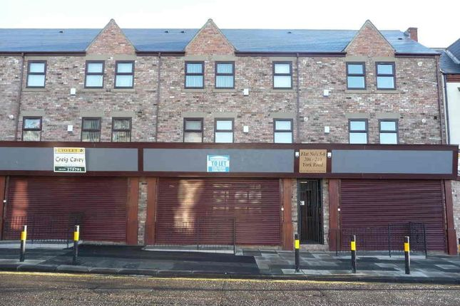 Thumbnail Flat to rent in York Road, Hartlepool