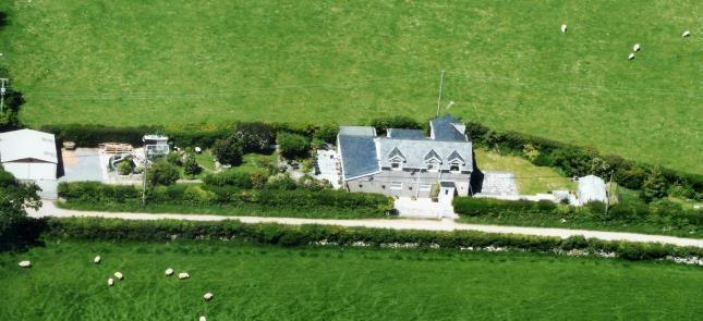 Thumbnail Detached house for sale in Chwilog, Pwllheli, Gwynedd
