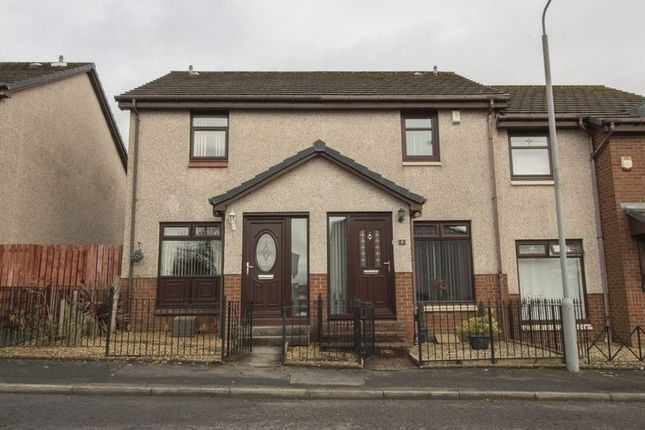 Thumbnail Terraced house for sale in Drumshangie Place, Airdrie