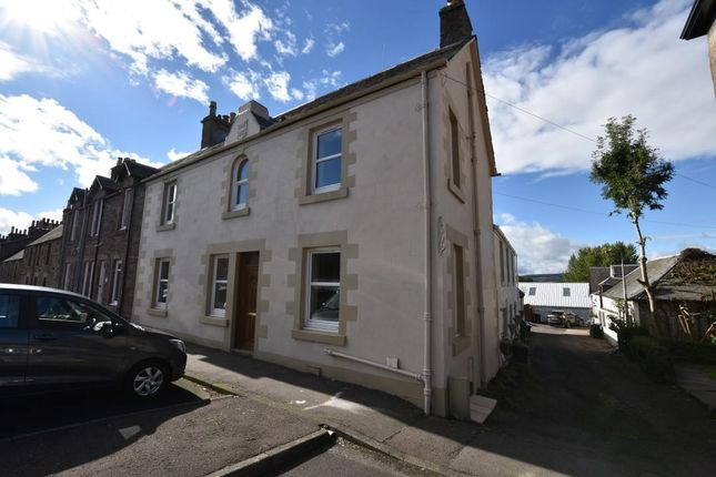 Thumbnail End terrace house for sale in Commissioner Street, Crieff