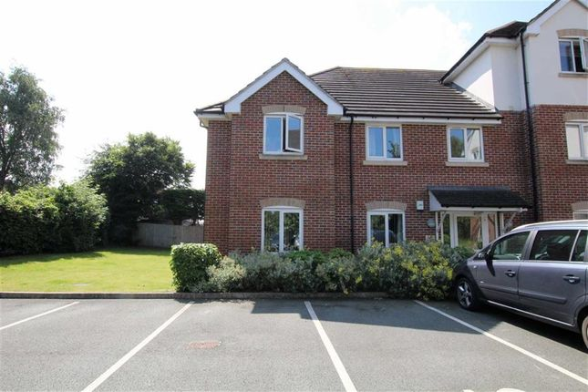 Thumbnail Flat for sale in Llys Ty Coed, Buckley, Flintshire