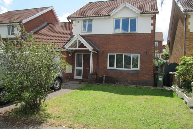 Thumbnail Link-detached house to rent in Gellideg Close, Maesycwmmer