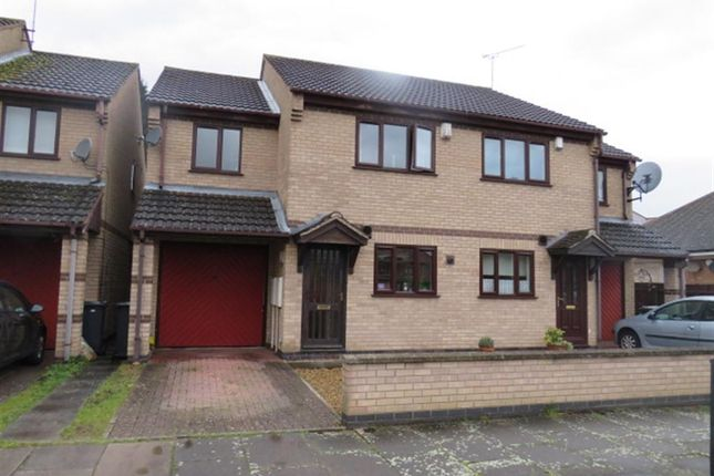 Thumbnail Semi-detached house for sale in Frampton Avenue, Western Park, Leicester