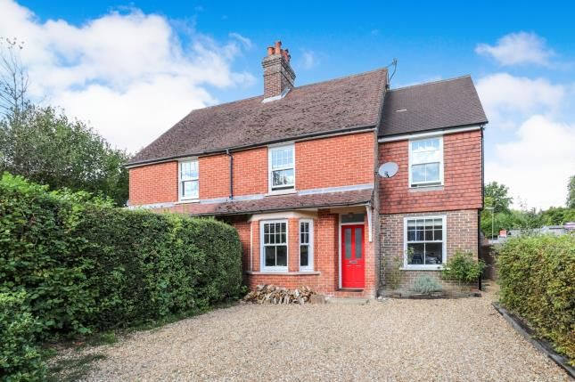 Thumbnail Semi-detached house for sale in Haslemere, Surrey