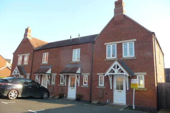 Thumbnail Town house to rent in St Andrews Court, Church Gresley, Derbyshire