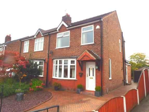 Thumbnail Semi-detached house for sale in Capesthorne Road, Orford, Warrington, Cheshire