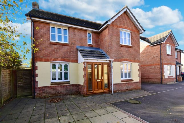 4 bed detached house for sale in Bryer Close, Chard