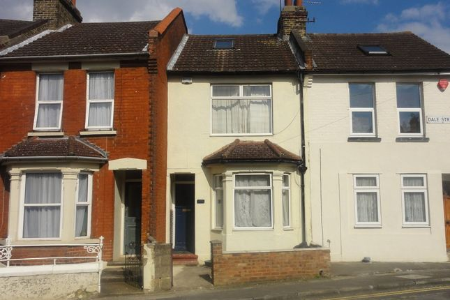 Thumbnail Terraced house to rent in Dale Street, Chatham